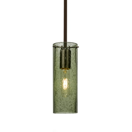 Besa Lighting 1TT-JUNI10MS-BR Juni 10 1 Light Bronze Stem Pendant Ceiling Light ()