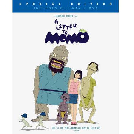 A Letter To Momo  Blu Ray   Dvd   Widescreen