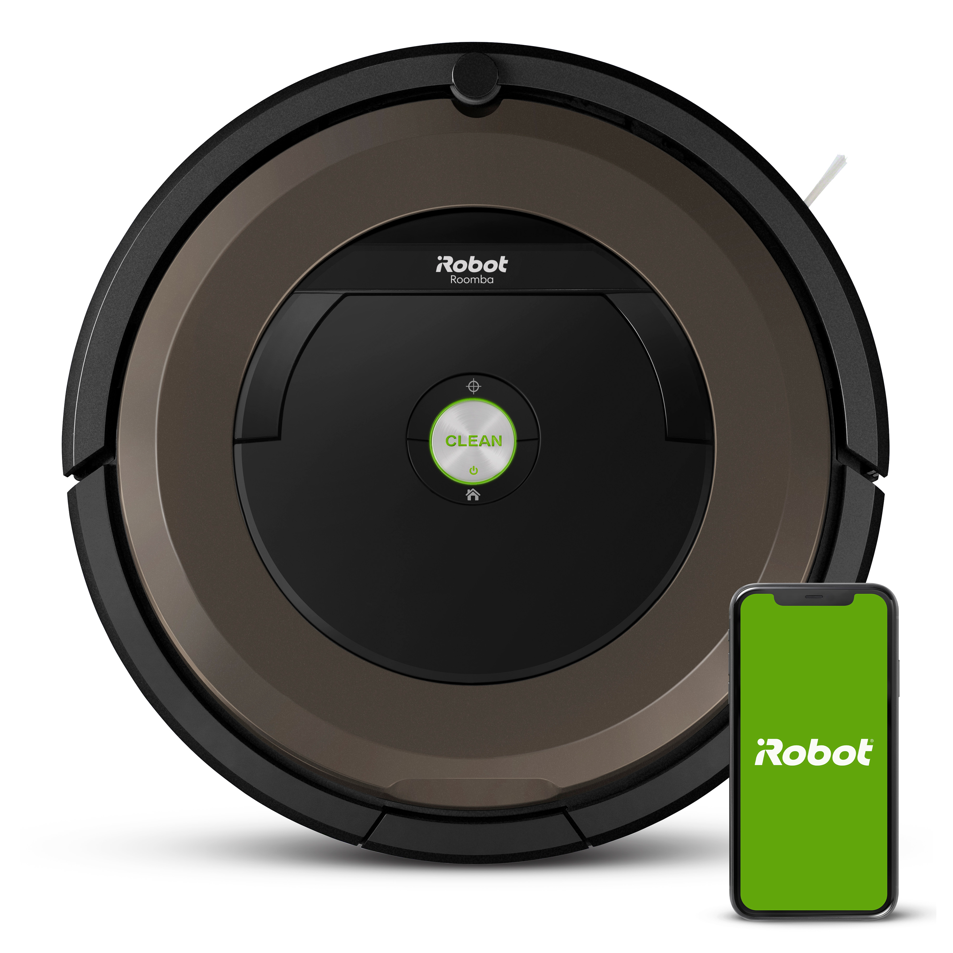 iRobot Roomba 890 Robot Vacuum- Wi-Fi Connected, Works with Google Home, Ideal for Pet Hair, Carpets, Hard Floors