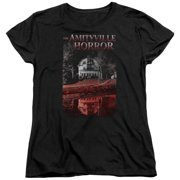 Amityville Horror Cold Blood Womens Short Sleeve Shirt