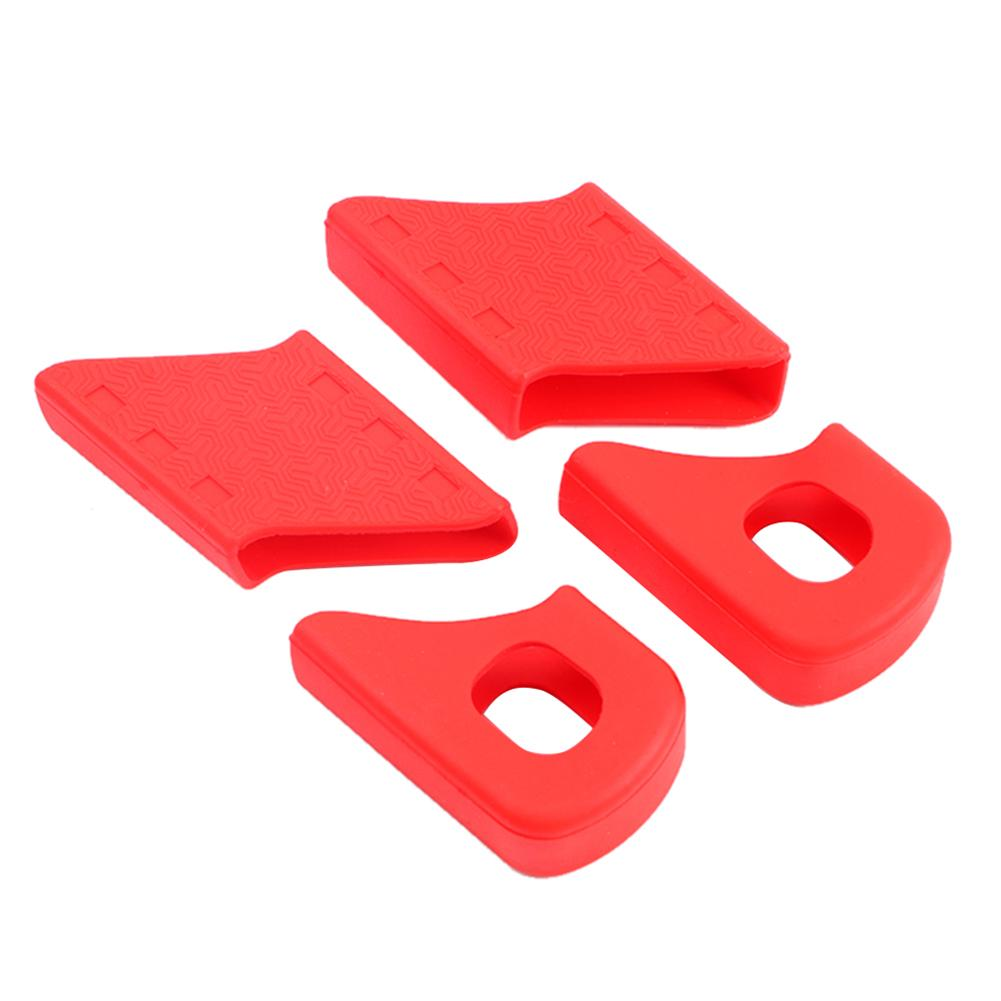 Details about  /Parts Crank Cover Protection Road Silicone Sleeve Universal Components