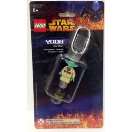 Lego Star Wars YODA Key Chain - Lego Key Chains