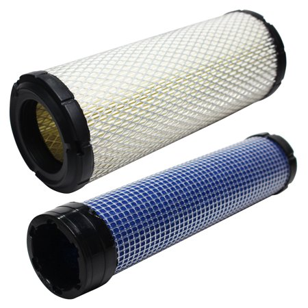 Compatible Kohler CH740S-CH740-0087 Engine Air Filter & Inner Air Filter - Compatible Kohler 2508304-S Inner Air Filter & 2508301-S Filter ()
