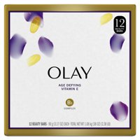 Olay Age Defying Beauty Bar Soap for Women, 3.17 oz, 12 ct