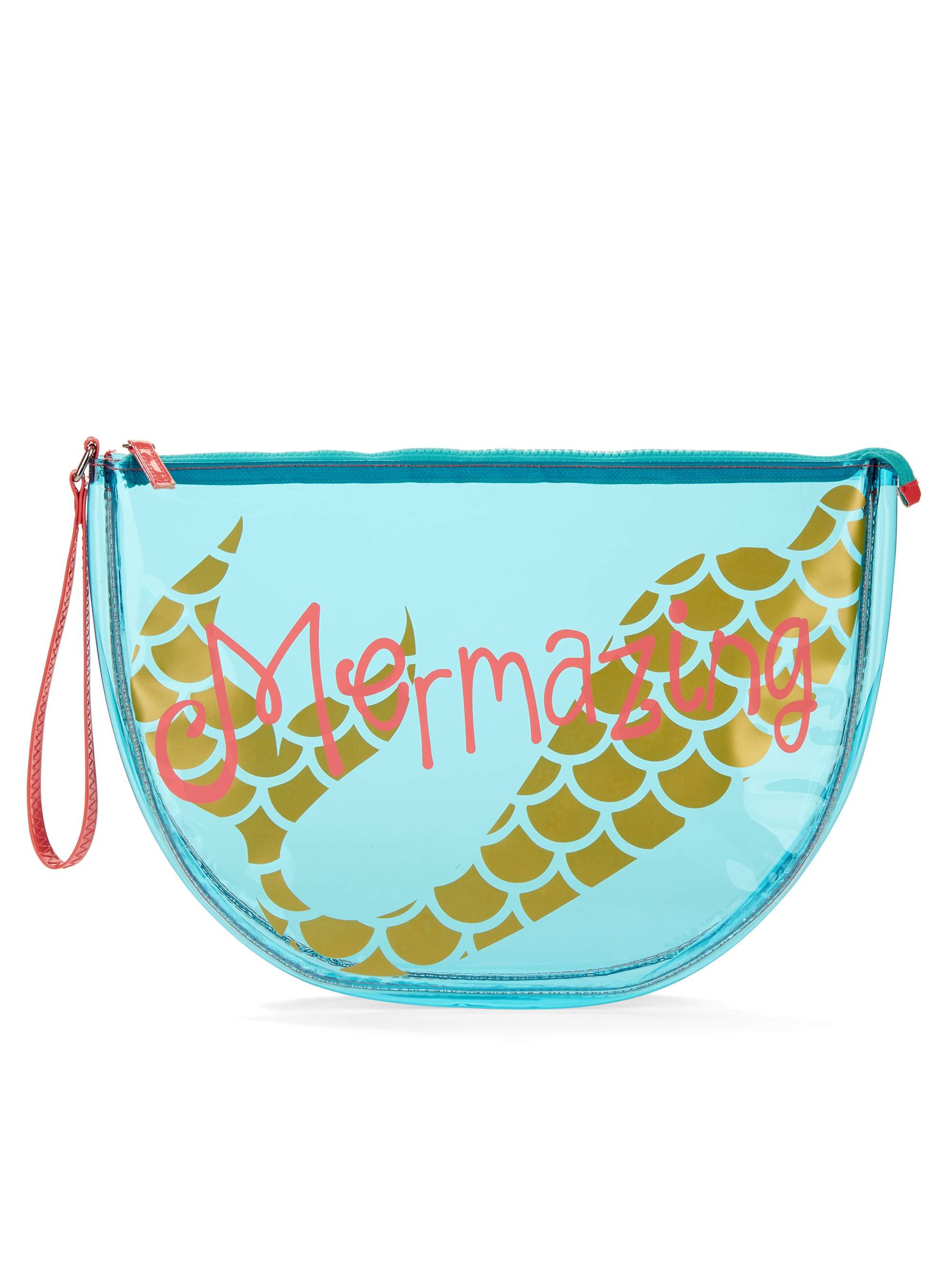 No Boundaries Jelly Half Moon Beach Pouch