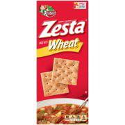 (2 Pack) Keebler Zesta Saltine Snack Crackers Wheat, 16.0 oz