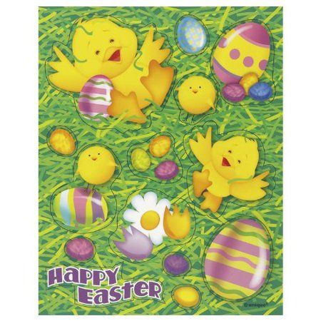 Arts And Crafts For Halloween Party (Easter Ducky Stickers for Party Bags or)
