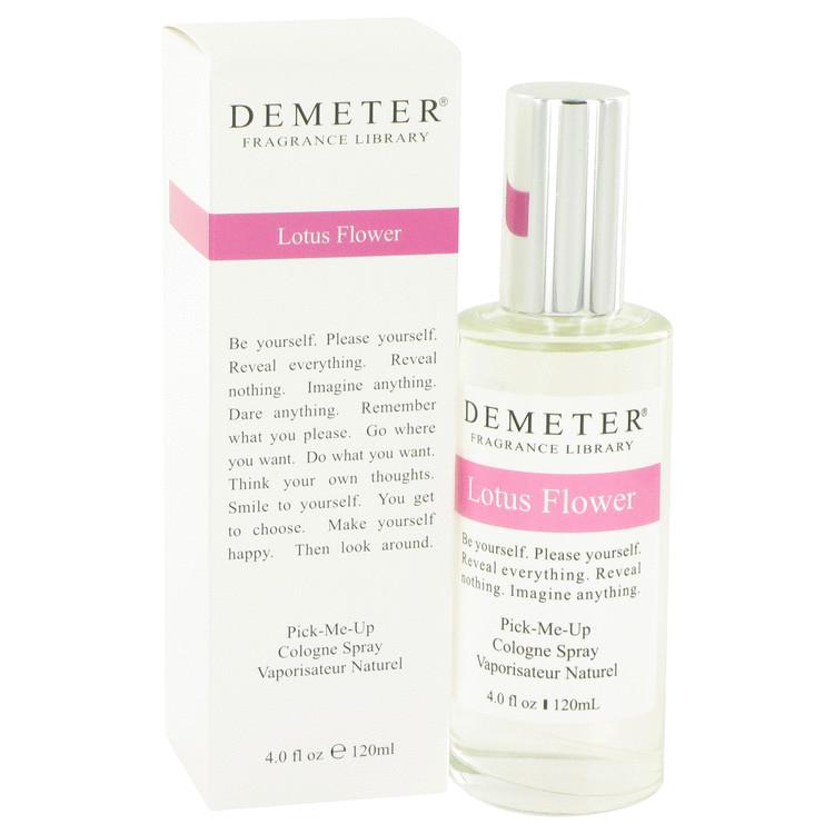 Demeter perfume 4 oz lotus flower cologne spray mightylinksfo