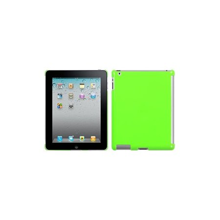 Insten Natural Pearl Green SmartSlim Back Case for APPLE: iPad 2, The new iPad, iPad 4 (with Retina display)