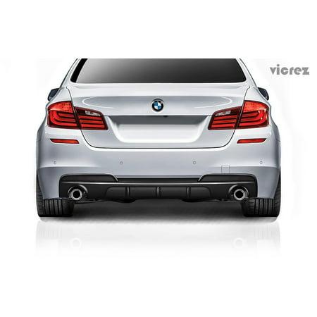 Vicrez BMW 5 Series F10 M Sport 2011-2017 VSM Carbon Fiber Rear Diffuser - -