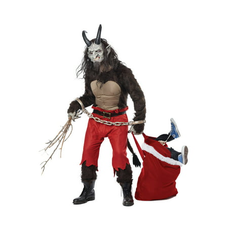 Krampus the Christmas Demon Adult Costume (Krampus Horns)