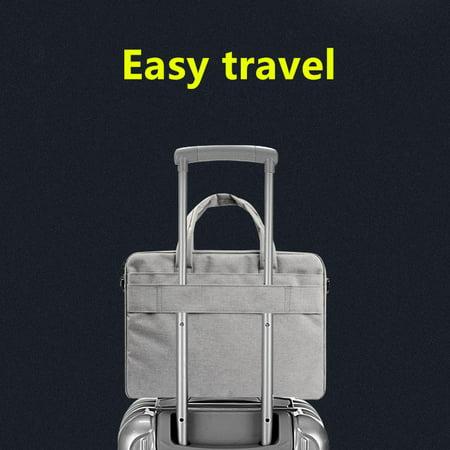"Waterproof Computer Laptop Notebook Bag Case Single Shoulder Tablet bags Unisex for MacBook, Dell, HP 13""-15"" by Epiktec - image 8 of 9"