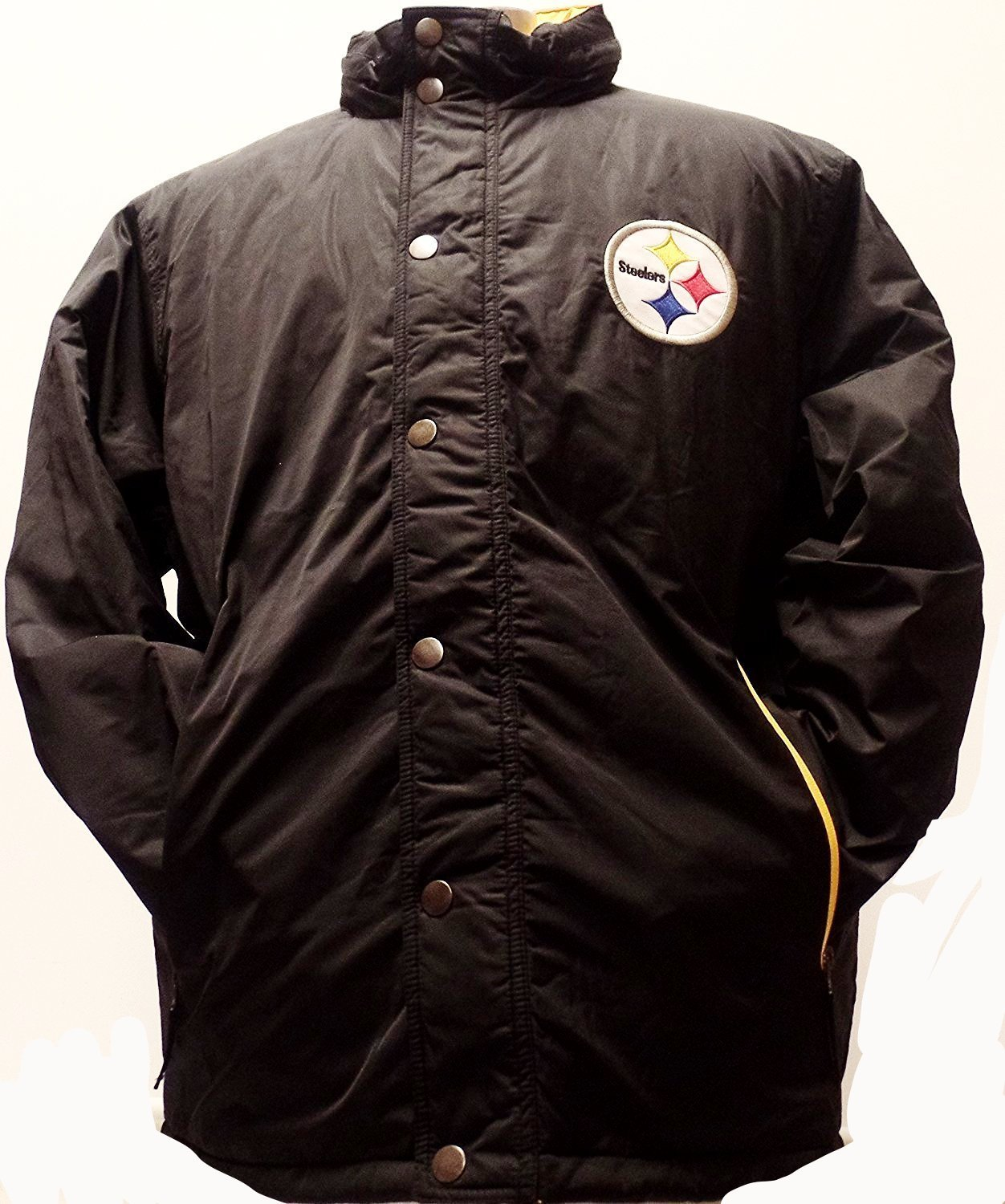 Pittsburgh Steelers Double Coverage Poly Coat by G-III Sports