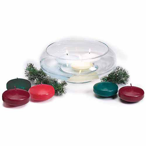 "Darice Unscented Floating Candle Disk, 3"", 12pk"