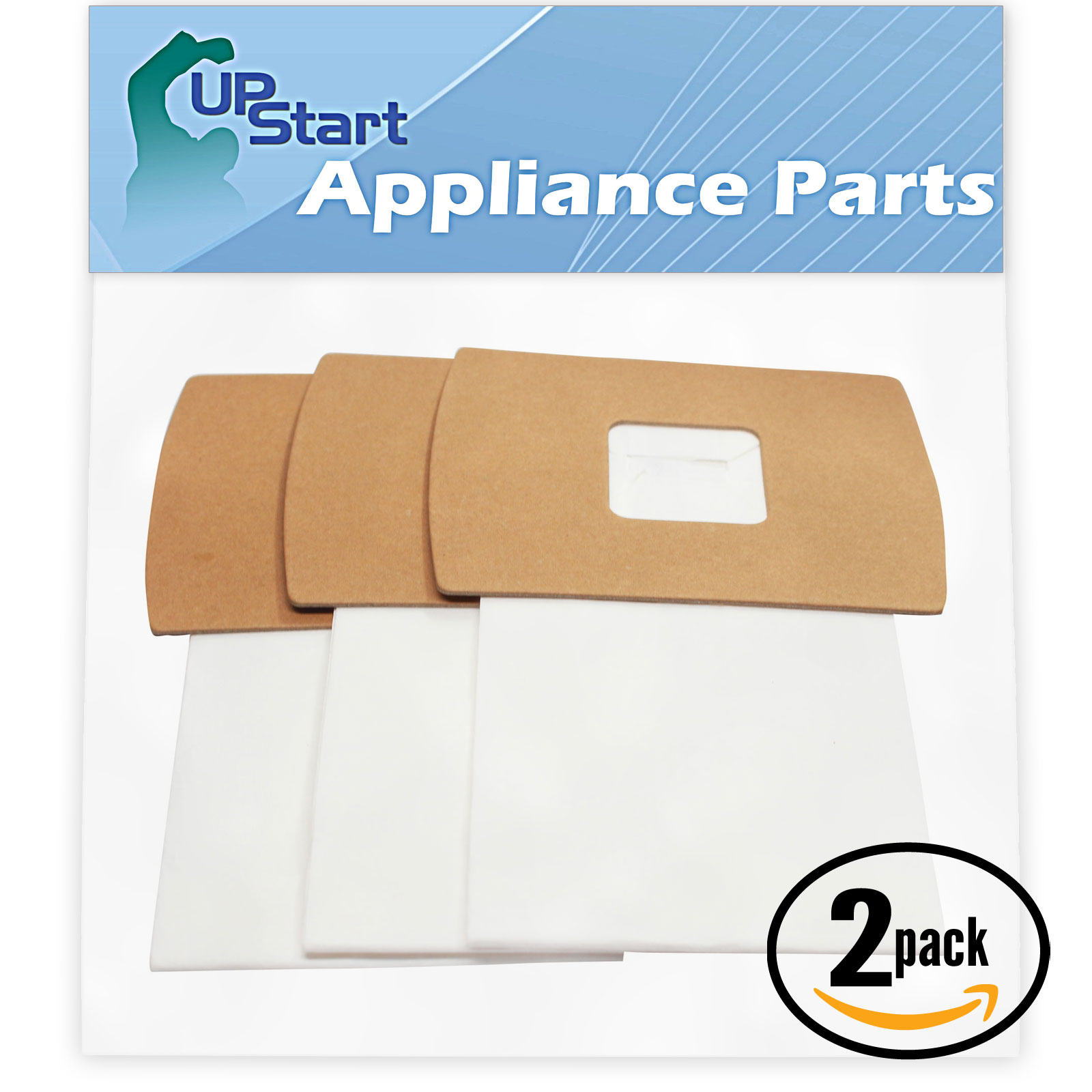 6 Replacement Oreck BB280D Vacuum Bags  - Compatible Oreck PKBB12DW, Type BB, Buster B Vacuum Bags (2-Pack, 3 Bags Per Pack)