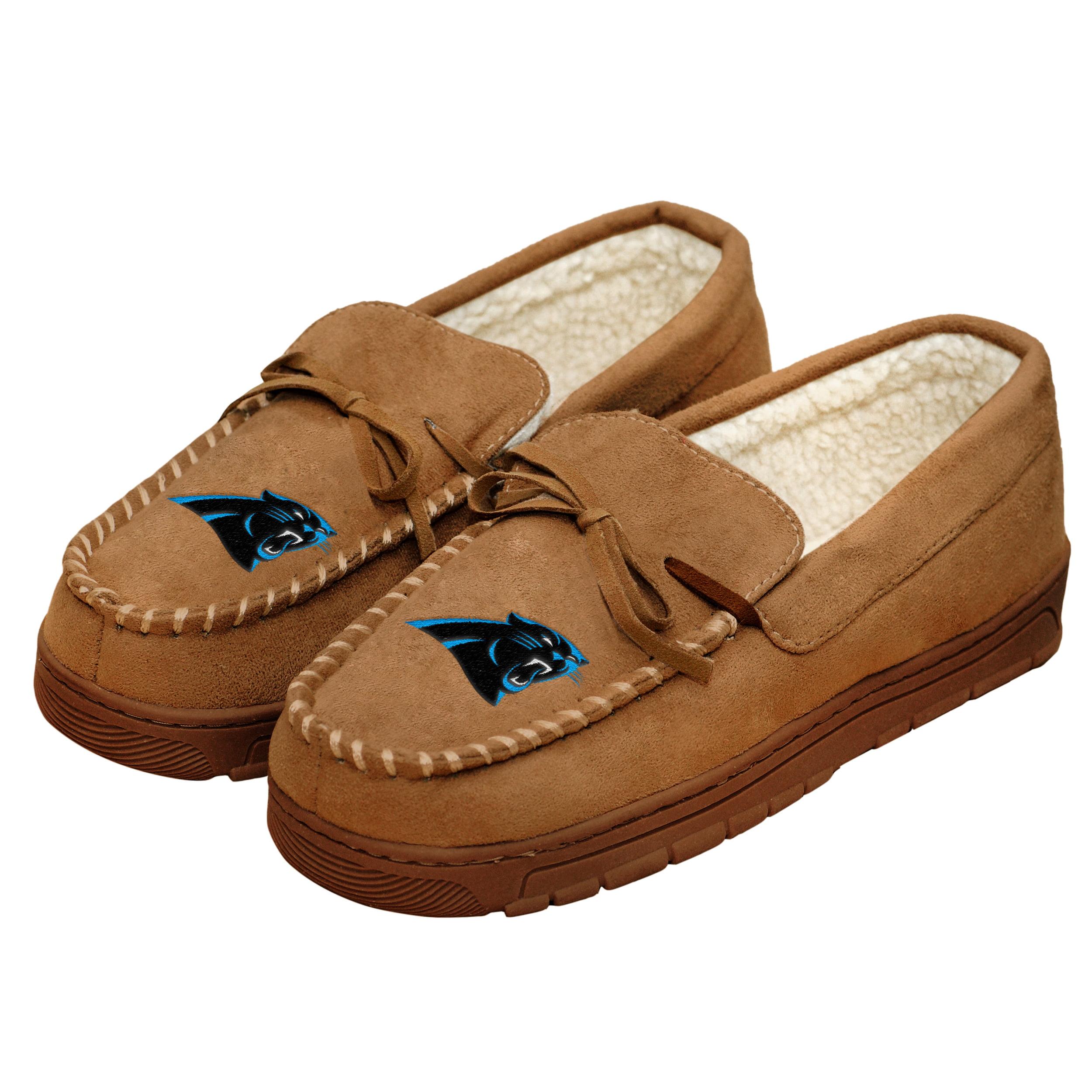 Carolina Panthers Men's Moccasin Slippers