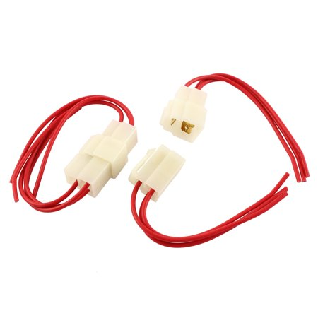 - Unique Bargains Car Audio Radio Stereo Wiring Harness 3 Pin Wire Adapter Connectors 2PCS