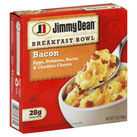 Jimmy Dean Bacon Breakfast Bowl, 7 oz - Walmart.com