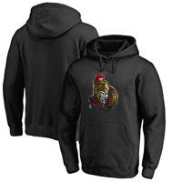 Ottawa Senators Fanatics Branded Midnight Mascot Pullover Hoodie - Black