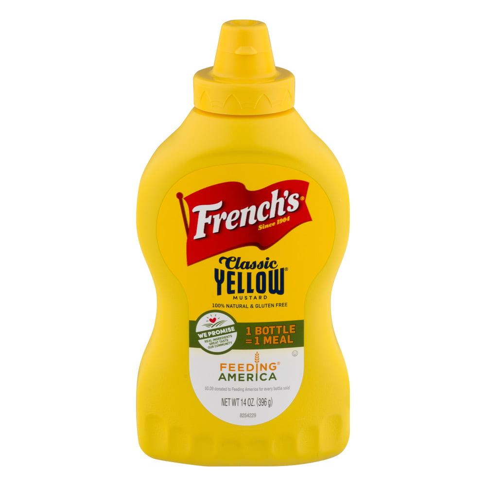 French's Classic Yellow Mustard, 14.0 OZ