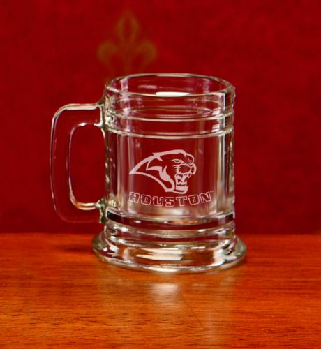 Houston Cougars Deep Etched Colonial Shot Mug