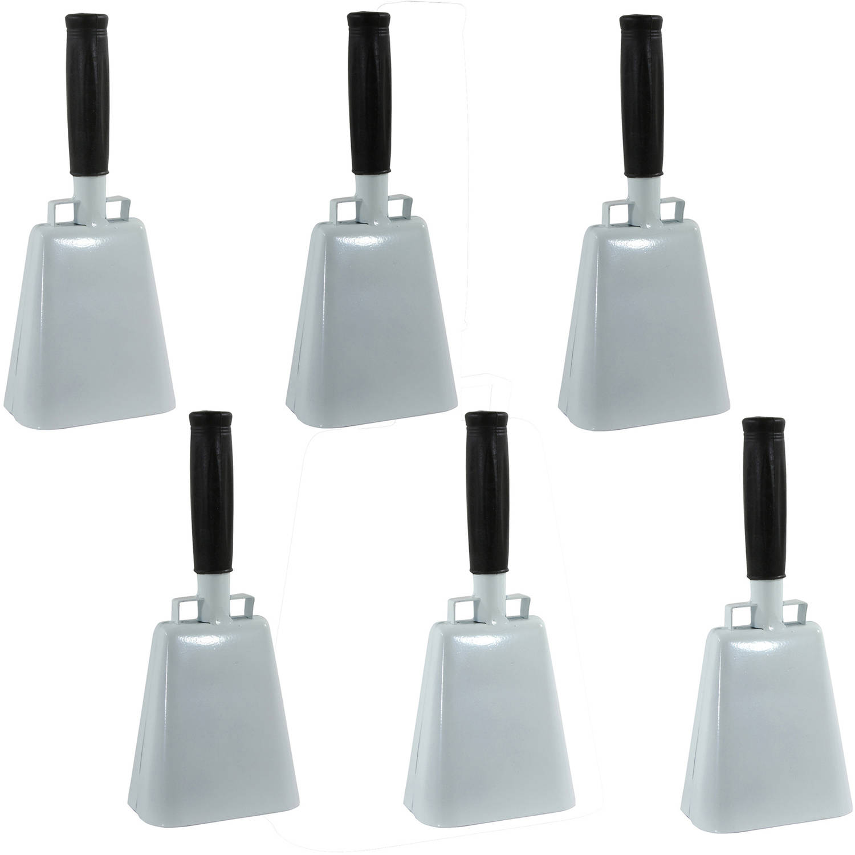Buffalo Tools Customizable 6-Piece 10 Inch Cow Bell Set