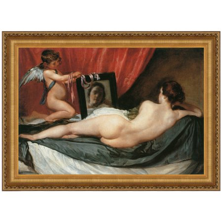 - Design Toscano  Venus at her Mirror (The Rokeby Venus), 1651:Medium