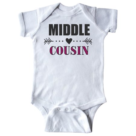 Middle Cousin With Heart Arrow Infant Creeper Walmartcom