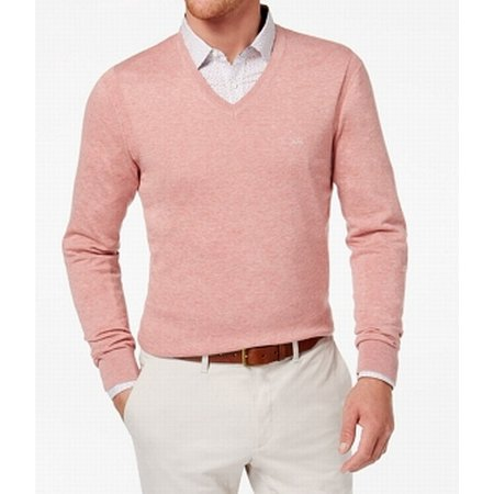 Mens Classic V-neck Sweater - Michael Michael Kors Mens Classic V-Neck Sweater