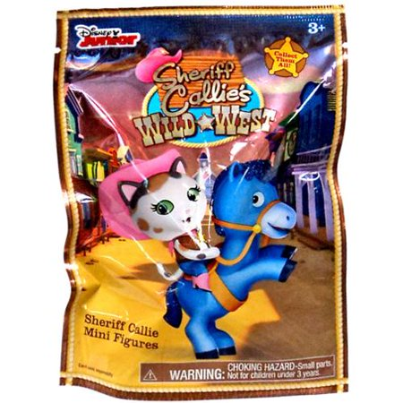Disney Junior Sheriff Callie's Wild West Mini Figures 2