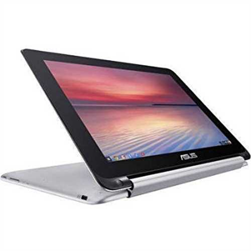 Refurbished Asus Chromebook Flip 2-in-1 C100PA - 10.1 Touch - Rockchip RK3288C - 2GB - 16GB Flash