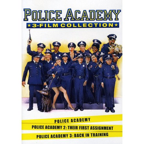 Police Academy 3 Film Collection: Police Academy / Police Academy 2: Their First Assignment / Police Academy 3: Back In Training (Widescreen)