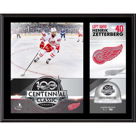 Henrik Zetterberg Detroit Red Wings Fanatics Authentic 12