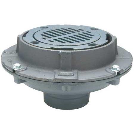 Floor Drain,Medium Duty, Pipe Dia 4 In ZURN Z554-4NH
