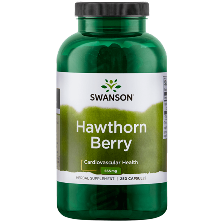 - Swanson Hawthorn Berry 565 mg 250 Caps