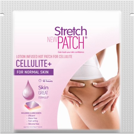 Stretch Patch CELLULITE+ For Normal Skin  Lotion Infused Hot Patch For cellulite