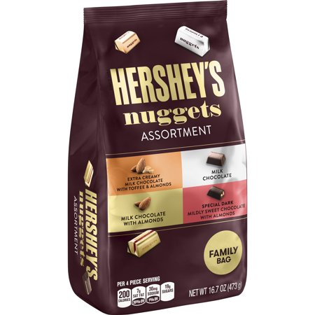 (2 Pack) Hershey's Nuggets, Chocolate Candy Assortment, 16.7 Oz for $<!---->