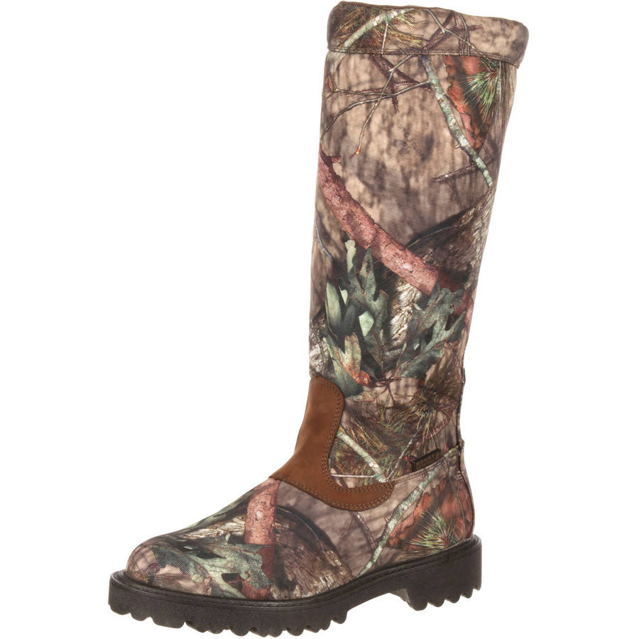 Rocky Low Country Snake Boot, Mossy Oak Country, 10 by Rocky