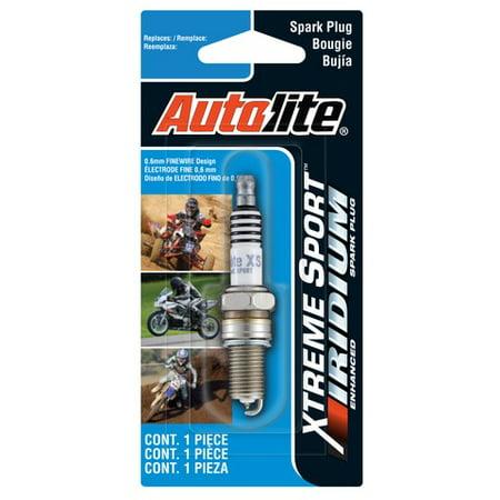 Autolite XS4164 Xtreme Sport Iridium Powersports Spark Plug ()