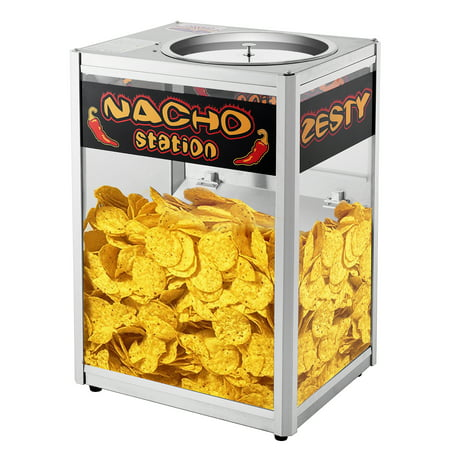 Great Northern Nacho Station Commercial Grade Nacho Warmer - Pretzel Warmer