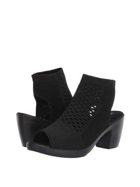 Bernie Mev. Texas Salma Women's Block Heel Knit Sandal Heels