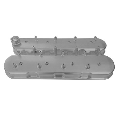 C4 C6 Corvette 1984-1996 & 2005-2013 L98 / LS2 / LS3 / LS7 Billet Valve Cover With Tall Height Ignition Coil Posts