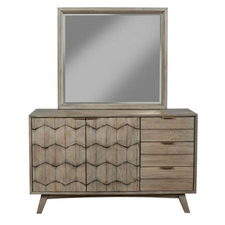 Alpine Furniture Shimmer Dresser