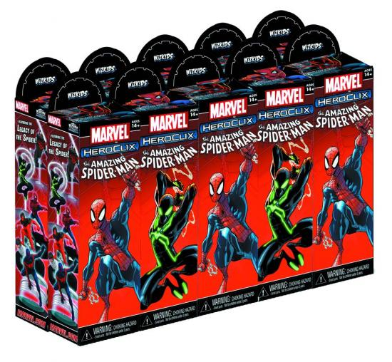 Marvel HeroClix The Amazing Spider-Man Booster Brick by