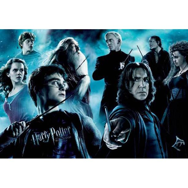 Harry Potter And The Half Blood Prince 2009 27x40 Movie Poster Walmart Com Walmart Com