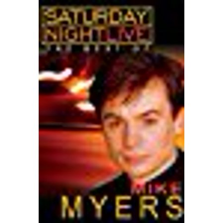 Saturday Night Live: The Best of Mike Myers dvd - Rob Zombie Mike Myers