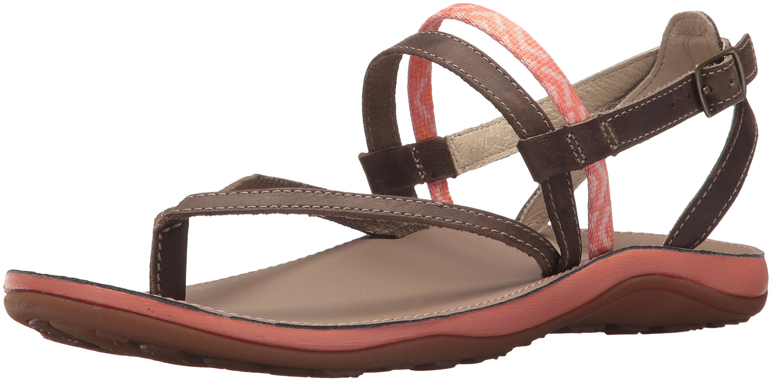 Chaco Women's Loveland Sandal, Stepped Peach, 7 Medium US by Chaco