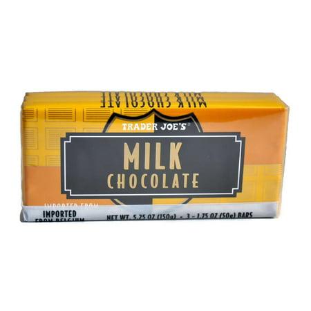 Trader Joe's Belgian Milk Chocolate Bars, 1.75 oz