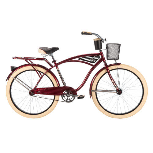 Huffy Men's Deluxe 26'' Classis Cruiser Bike