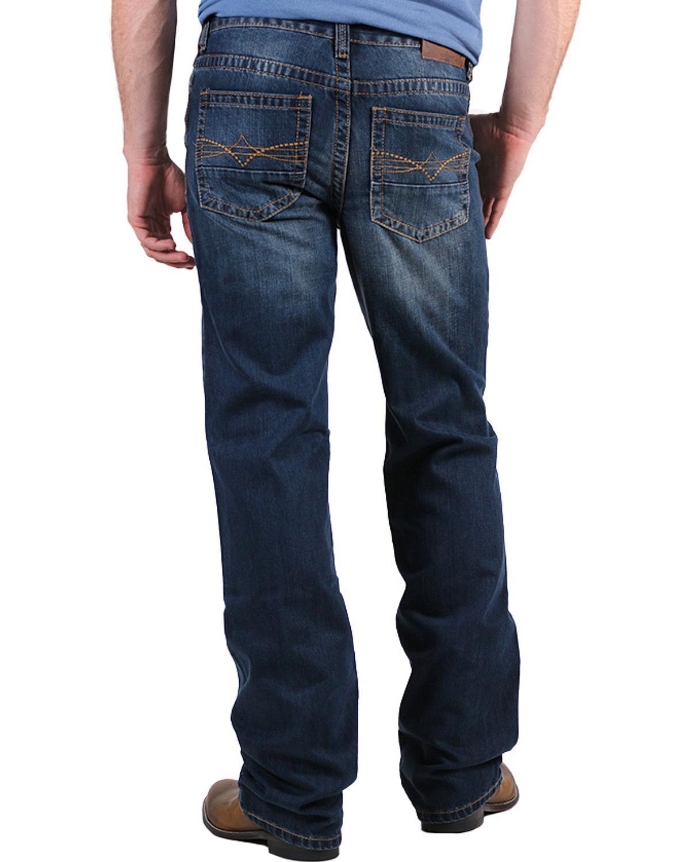 Cody James Men's Copperhead Slim Fit Boot Cut Jeans - 5Cj401